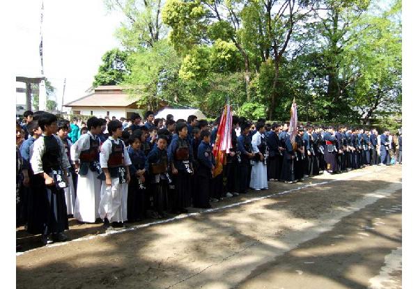 第34回砥鹿神社例祭奉納少年少女剣道大会