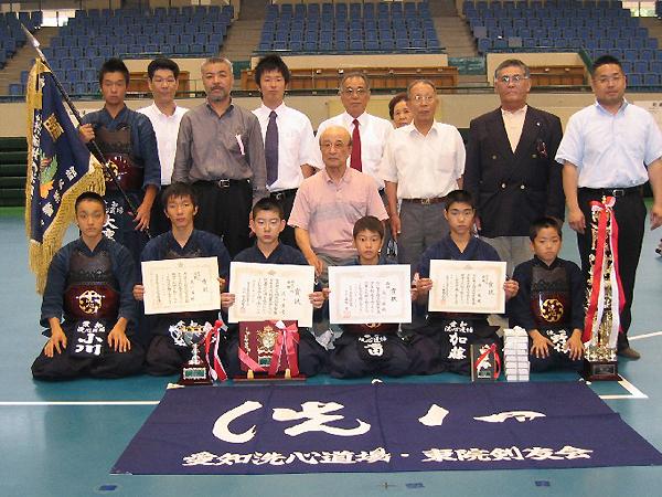 第19回愛知県警察少年剣道大会
