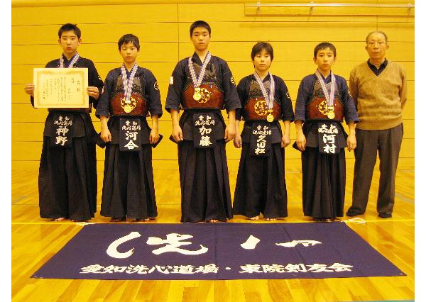 第22回名古屋市春季少年剣道大会