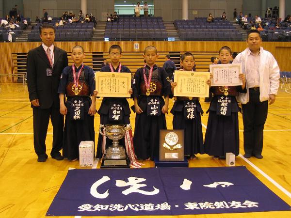 第36回愛知県少年剣道錬成大会