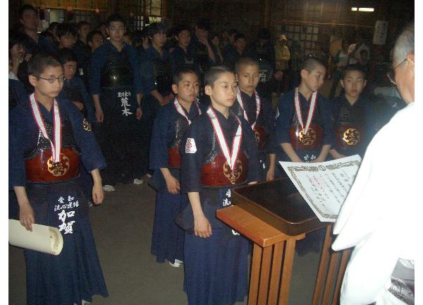 第35回砥鹿神社例祭奉納少年剣道大会