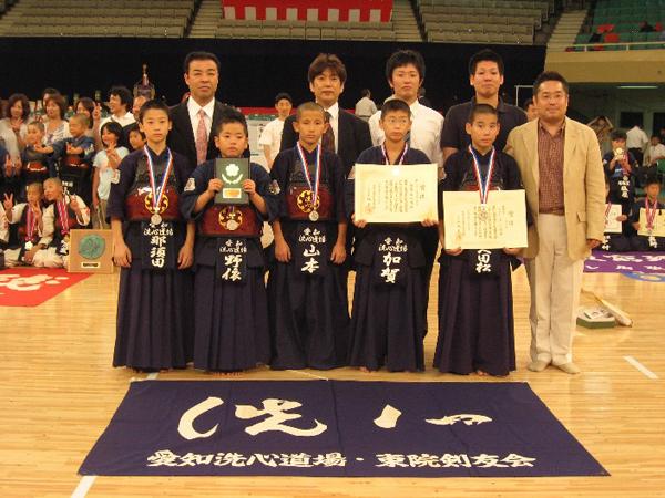 第42回全日本少年剣道錬成大会・小学生の部
