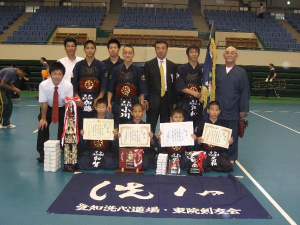 第20回愛知県警察少年剣道大会