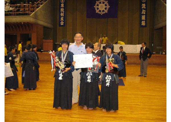 東別院洗心道場創立40年記念少年剣道大会