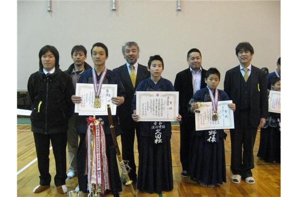 第34回保裕旗争奪森安修道館少年剣道大会
