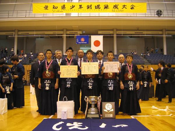 第37回愛知県少年剣道錬成大会