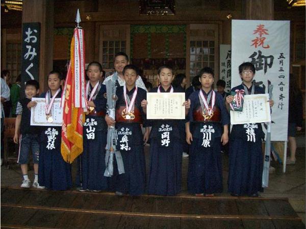 第36回砥鹿神社例祭奉納少年剣道大会