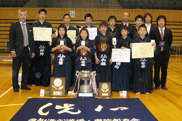 第38回愛知県少年剣道錬成大会