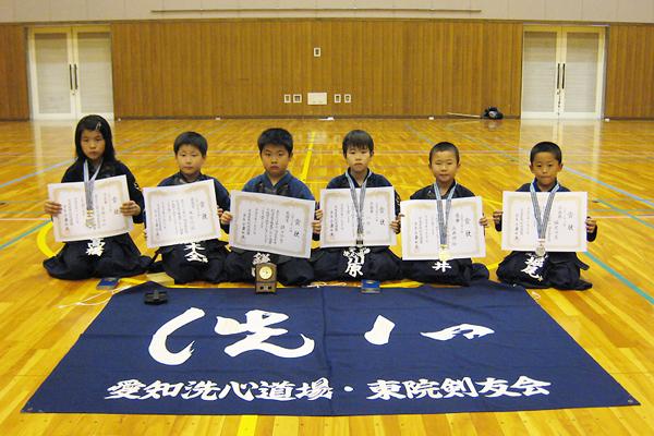第6回名古屋市剣道選手権大会・小学生