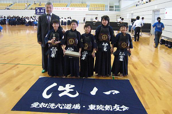 第5回若武者杯争奪サニーマート少年剣道錬成大会