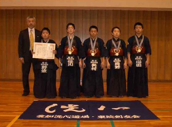 第24回名古屋市春季少年剣道大会