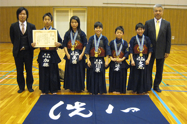 第25回名古屋市春季少年剣道大会