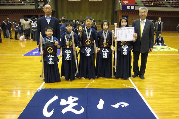 第17回愛知県武道館少年剣道大会・小学生の部