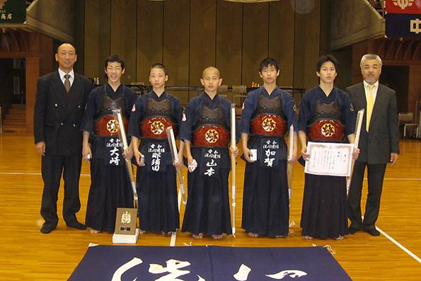 第17回愛知県武道館少年剣道大会 ・中学生の部
