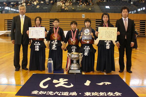 第39回愛知県少年剣道練成大会・第45回全日本少年剣道練成大会予選会