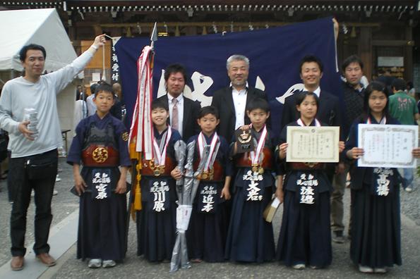 第38回砥鹿神社例祭奉納少年少女剣道大会
