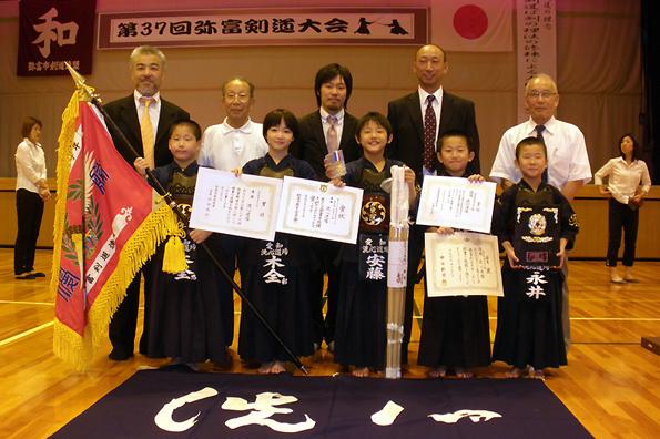 第37回弥富剣道大会 小学生低学年の部 洗心道場チーム