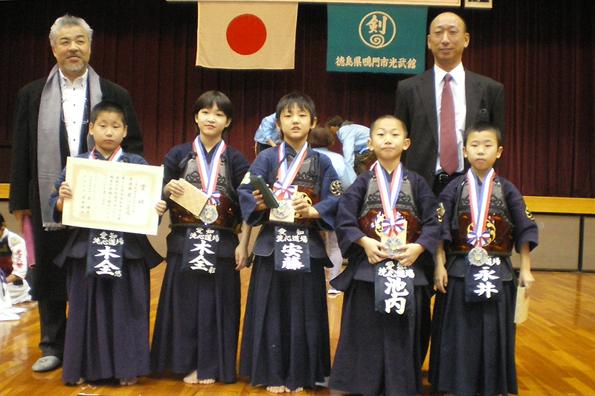 第13回寺西杯争奪近県選抜少年剣道大会 小学生低学年 洗心道場チーム
