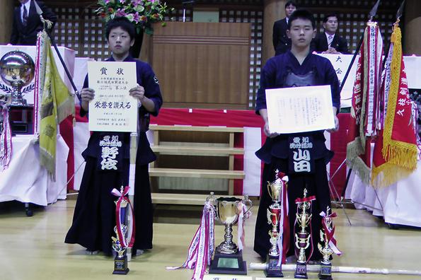 全国選抜国体強化第41回久枝剣道大会 個人戦 中学生の部
