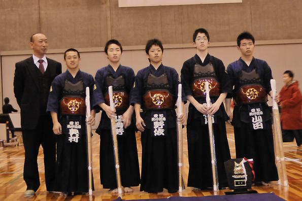 第37回関西選抜少年剣道優勝大会 中学生 洗心道場Aチーム