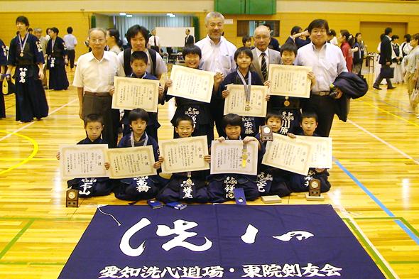 第8回名古屋市剣道選手権大会 小学生