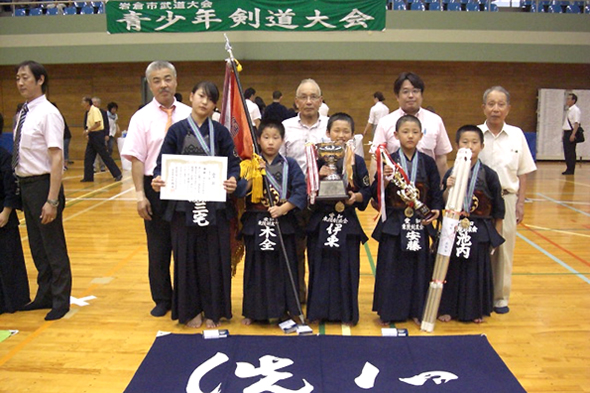 第16回岩倉市青少年剣道大会 東院剣友会チーム
