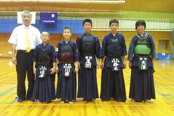 第6回全国都道府県対抗少年剣道優勝大会 愛知県代表チーム