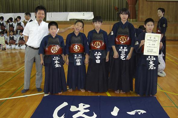 第14回杜若カップ剣道大会 小学生 洗心道場チーム