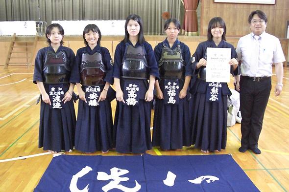 第14回杜若カップ剣道大会 中学生女子 洗心道場チーム