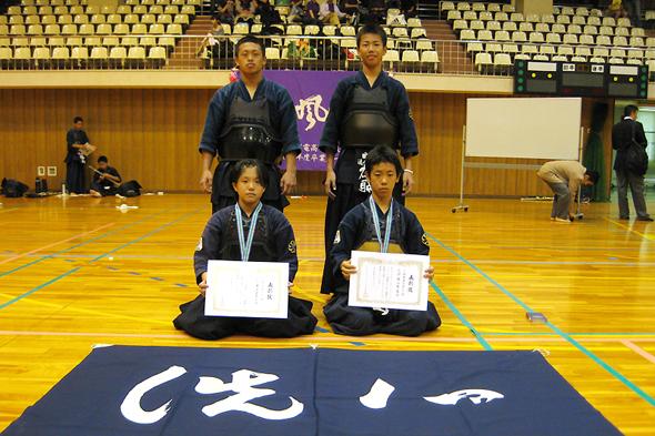 なごやマイ・スポーツフェスティバル剣道大会 中学生の部入賞者