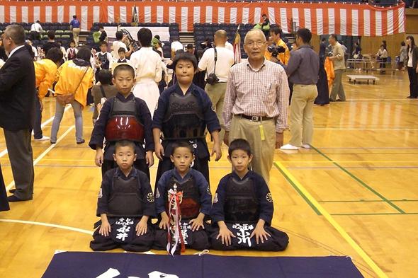 平成23年度近藤杯争奪剣道大会 小学生低学年の部 洗心道場Aチーム