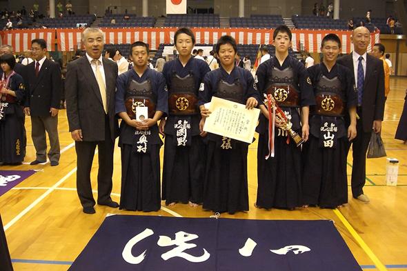 平成23年度近藤杯争奪剣道大会 中学生の部 洗心道場Bチーム