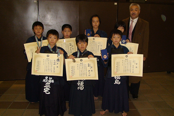 嘉章旗争奪第29回武徳館少年剣道大会 小学生の部