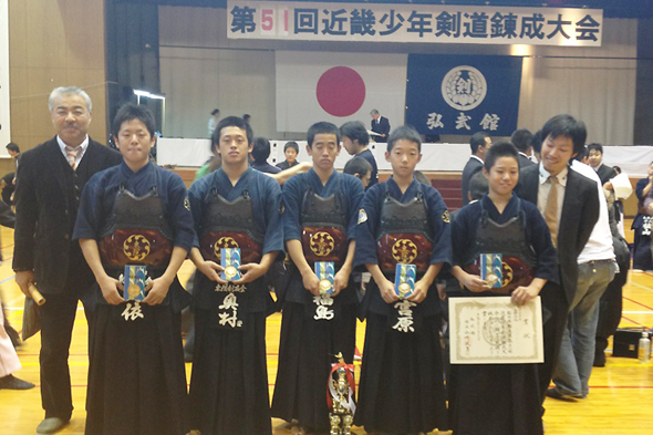 第51回近畿少年剣道錬成大会 東院剣友会