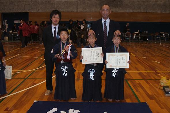 第一回秋田杯少年剣道大会 小学生低学年の部 洗心道場チーム