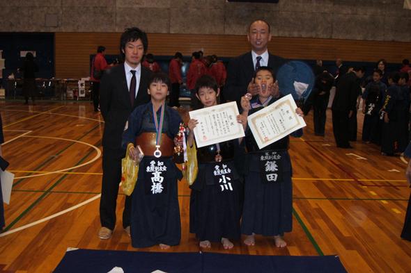 第一回秋田杯少年剣道大会 小学生低学年の部 東院剣友会チーム