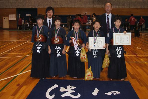 第一回秋田杯少年剣道大会 小学生の部 洗心道場チーム