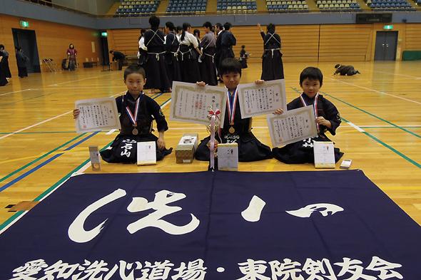 第46回港区剣道大会 小学2年生以下の部 入賞者