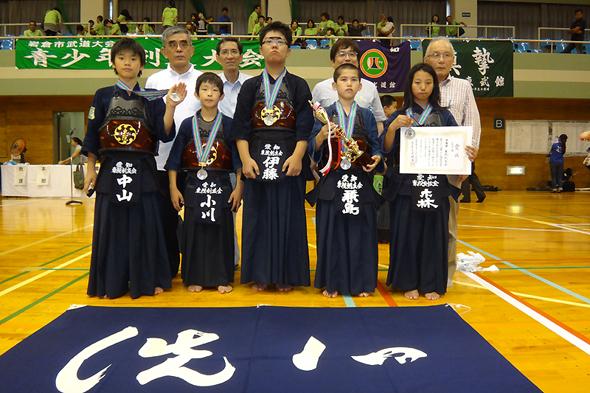 第17回岩倉市青少年剣道大会 東院剣友会チーム