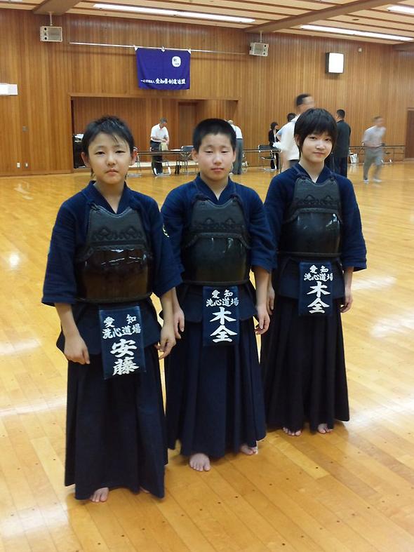 第7回全国都道府県対抗少年剣道優勝大会 愛知県代表選手