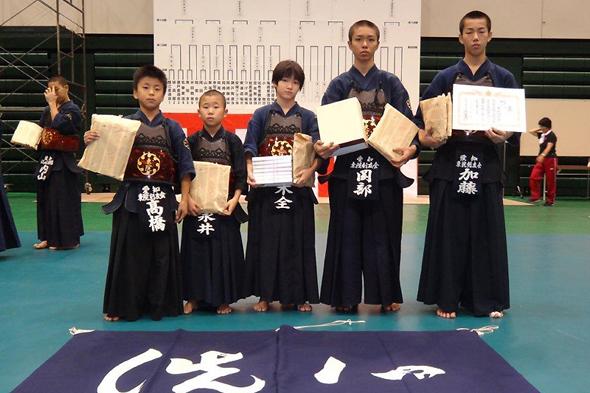 第25回愛知県警察少年柔道・剣道大会 東院剣友会チーム