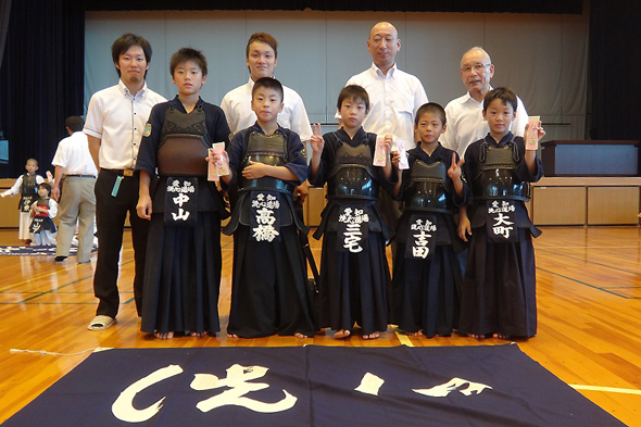 第39回弥富剣道大会 小学生低学年の部 洗心道場チーム