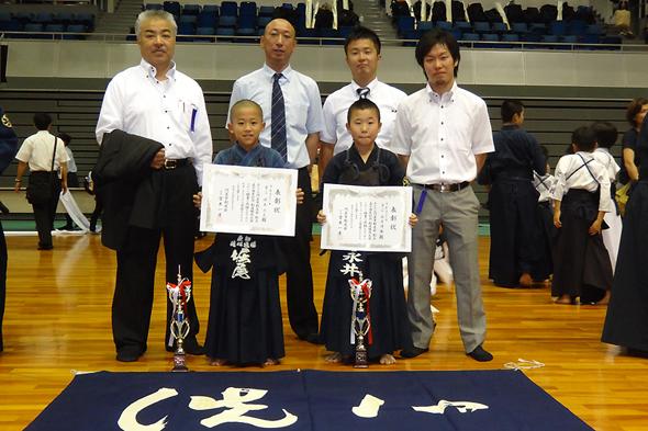 門真市剣友会創立50周年記念少年剣道大会 個人戦 小学生高学年の部