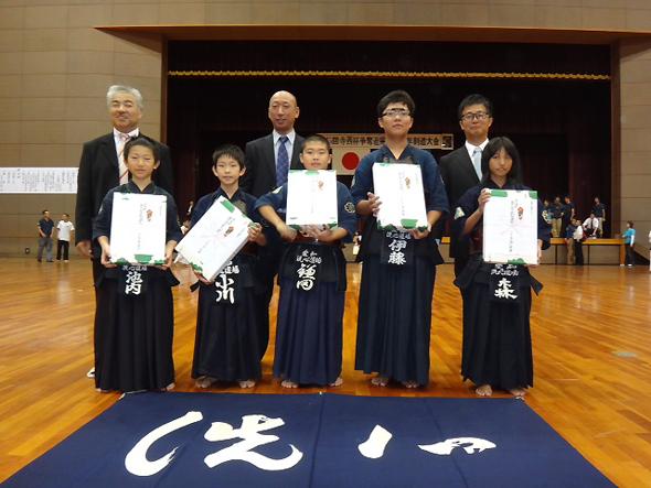 第15回記念寺西杯争奪近県選抜少年剣道大会 小学生 洗心道場B