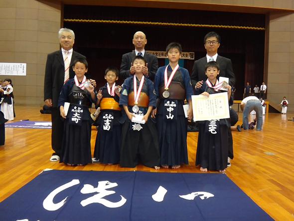 第15回記念寺西杯争奪近県選抜少年剣道大会 小学生低学年 洗心道場A