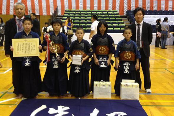 平成24年度「近藤杯」争奪剣道大会 小学生の部 洗心道場Aチーム
