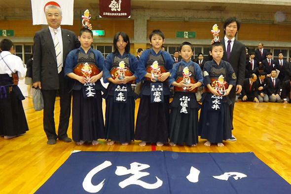 立命館大学剣道部100周年記念少年剣道錬成大会