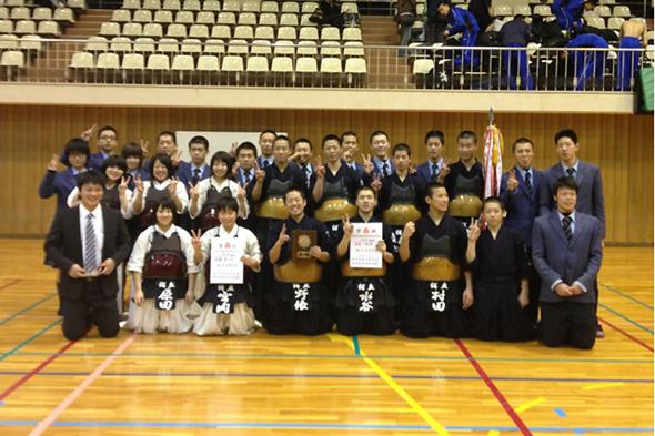 平成24年度愛知県高等学校新人体育大会 桜丘高校チーム