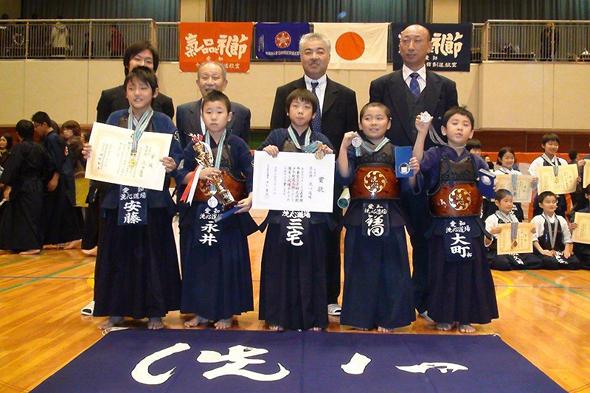 嘉章旗争奪第30回武徳館少年剣道大会