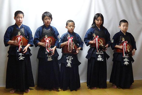 平成25年昇龍旗争奪全国選抜少年剣道大会 洗心道場Aチーム
